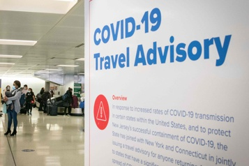 Un test de COVID-19 négatif exigé pour se rendre aux États-Unis par avion)