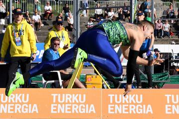 Athlétisme à Turku: Johannes Vetter en grande forme au javelot)