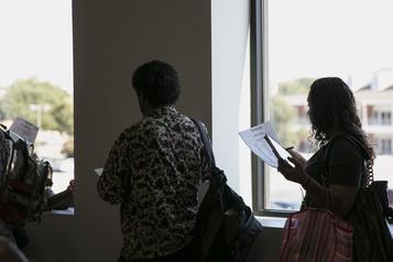 États-Unis Baisse en trompe-l'œil du nombre de chômeurs aux États-Unis)
