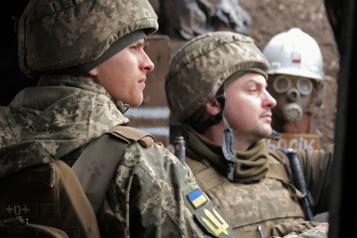 Kiev accuse Moscou de «désinformation» et de chercher un prétexte d'invasion)
