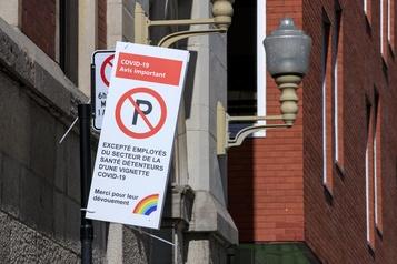 Centre-ville de Montréal Une application plutôt que des nouveaux stationnements)