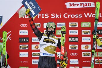 Ski cross  Le Canadien Reece Howden médaillé d'or en Suède)