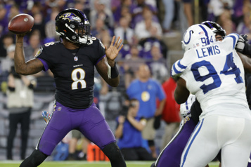 Les Ravens battent les Colts en prolongation