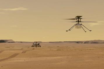 Mars La NASA retarde le vol de son hélicoptère Ingenuity)