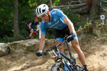 Vélo de montagne Une course qui n'est pas au goût de Léandre Bouchard)