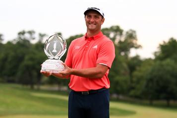 Jon Rahm nouveauN.1 mondial de golf après sa victoire au Memorial)