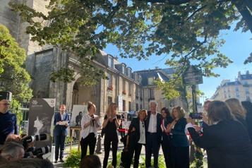 Saint-Germain-des-Prés La place Juliette-Gréco inaugurée