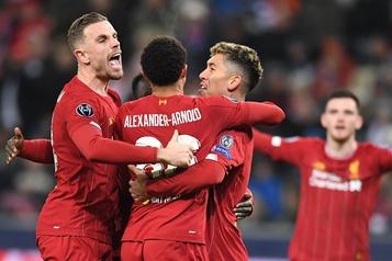 Ligue des champions: Liverpool passe en huitièmes, l'Ajax tombe