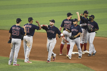 Eovaldi et les Red Sox l'emportent 5-3)