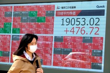 Guettant le pic de l'épidémie, les marchés entre espoir et prudence