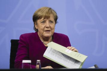 Allemagne Angela Merkel concède un déconfinement progressif)