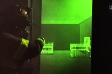 La réalité augmentée au service des pompiers de la Silicon Valley)