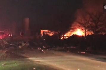 Au moins deux morts dans l'explosion d'un entrepôt à Houston