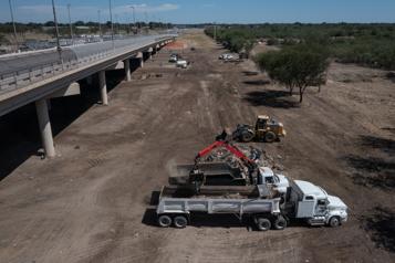 Crise à la frontière mexicaine Tous les migrants ont quitté leur campement au Texas)