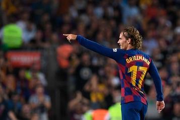 Débuts fracassants de Griezmann avec le FC Barcelone