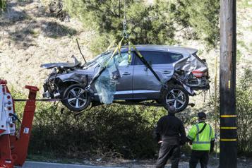 Accident de Tiger Woods La «boîte noire» du véhicule sera analysée)