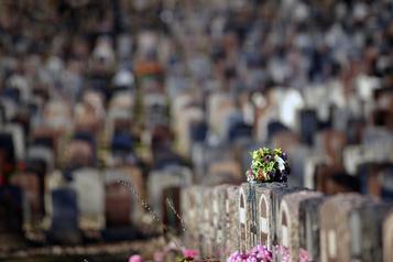 Le temps des mortels Luce DesAulniers: les morts ne savent plus où se mettre)