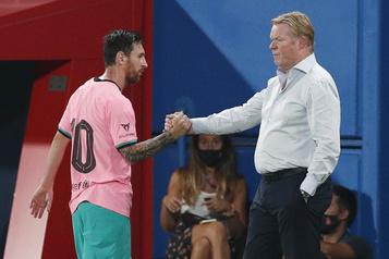 FC Barcelone «Je ne suis pas le méchant», dit l'entraîneur Koeman)