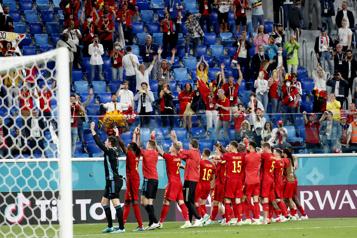 Euro  La Belgique réussit son introduction en battant la Russie 3-0)