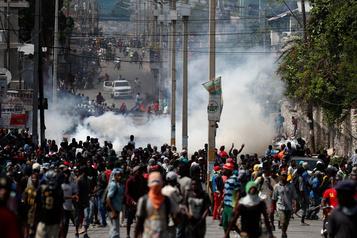La colère des manifestants ne faiblit pas en Haïti