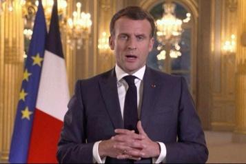 Emmanuel Macron veut «définir de claires lignes rouges avec la Russie»)