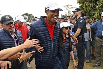 Coupe des Présidents: triomphe émotif de Tiger Woods et des États-Unis