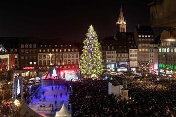 Le marché de Noël de Strasbourg victime de la COVID)