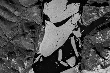 Groenland La fonte de la calotte à des niveaux sans précédent depuis 12000ans)