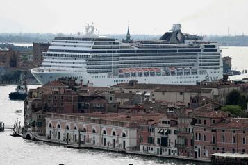 Venise: les paquebots ne pourront plus approcher du centre historique)