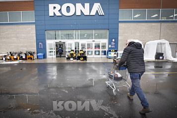 Fermetures de magasins Rona: les entrepreneurs ne sont pas surpris