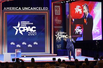 Grand-messe des conservateurs américains La foi en Trump)