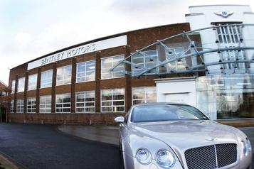 Le constructeur Bentley supprime 1000emplois)