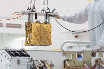 Le rover Perseverance a fabriqué de l'oxygène sur Mars)