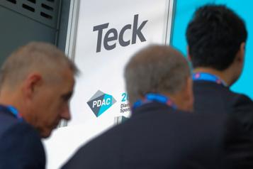 Teck Resources dégage un profit de 260 millions)