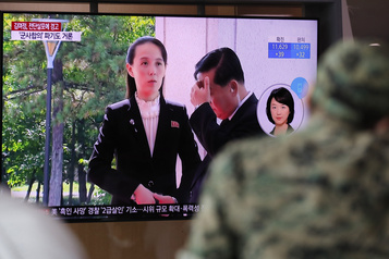 La Corée du Nord menace de rompre l'accord militaire avec le Sud)