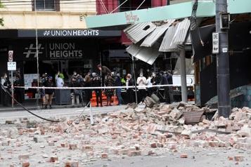 Un séisme de magnitude5,9 frappe l'Australie )