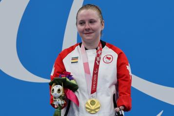 La nageuse Danielle Dorris décroche l'or au 50m aux Paralympiques)