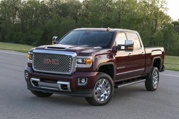 GM rappelle 364 000 pickups HD diesel, le chauffe-bloc peut prendre feu)