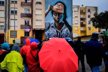 Un quartier défavorisé de Lisbonne transformé par l'art de rue