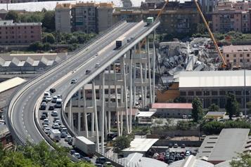Pont de Gênes Un procès demandé pour 59personnes)