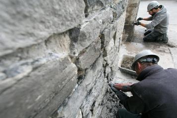 Maçonnerie: redonner vie àla pierre