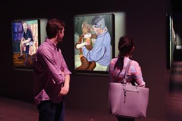 Les peintures de George W. Bush rendent hommage aux soldats blessés