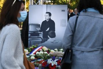 Assassiné le 16octobre2020 La France rend hommage à l'enseignant Samuel Paty