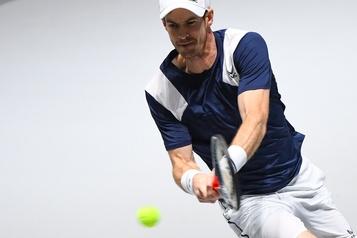 Andy Murray encouragé malgré sa défaite contre Daniel Evans)