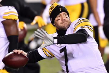 Steelers de Pittsburgh Ben Roethlisberger de retour pour une 18esaison)