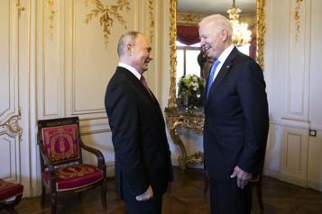 Biden-Poutine Moscou salue le «bon sens» américain)