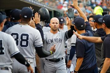 Brett Gardner et les Yankees: tout est réglé