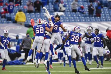 Les Bills remportent un premier match éliminatoire en 25ans)