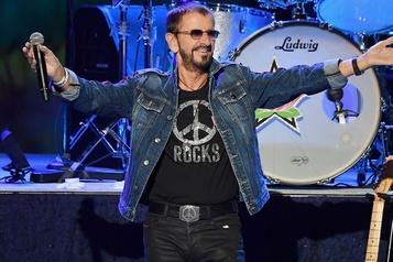 Ringo Starr fête ses 80ans en ligne)