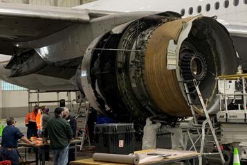 Incident d'un Boeing777 Washington exige un examen approfondi des pales de certains avions)